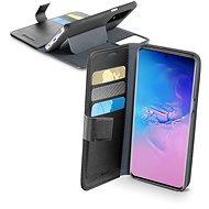 Cellularline Book Agenda - Samsung Galaxy S20 Ultra fekete színű készülékekhez - Mobiltelefon tok
