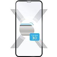FIXED 3D Full-Cover Apple iPhone X/XS/11 Pro készülékhez a teljes kijelzőre fekete - Képernyővédő