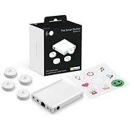 Flic 2 Starter Kit - 4x intelligens Bluetooth gomb, Hub LR, hálózati adapter, matricák - Detektor