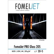 Fotópapír Fomei Jet Pro Gloss 205 A4 - 20 db + 5 db ingyenes