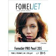 FOMEI Jet PRO Pearl 205 A4 - 20 db + 5 db ingyen - Fotópapír