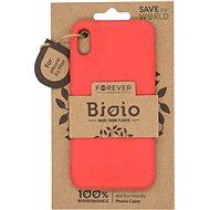Forever Bioio iPhone XS Max-hoz piros - Telefon hátlap