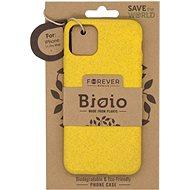 Forever Bioio iPhone 11 Pro Max készülékhez sárga - Telefon hátlap