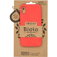 Forever Bioio iPhone X / XS-hez piros - Telefon hátlap
