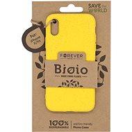 Forever Bioio iPhone X / XS készülékhez sárga - Telefon hátlap