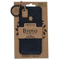 Forever Bioio Samsung A21s készülékhez fekete - Mobiltelefon hátlap