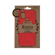 Forever Bioio a Samsung A21s készülékhez piros - Mobiltelefon hátlap