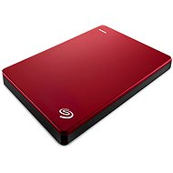 Seagate BackUp Plus Slim Portable 2TB piros - Külső merevlemez