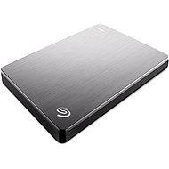 Seagate BackUp Plus Slim Portable 2TB ezüst - Külső merevlemez