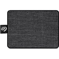 Seagate One Touch SSD 1TB, fekete - Külső merevlemez