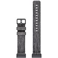 Fitbit Charge 3 Accessory Band Woven Charcoal Large - Tartozék