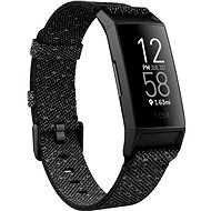 Fitbit Charge 4 Special Edition (NFC) - Granite Reflective Woven/Black - Okoskarkötő