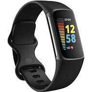 Fitbit Charge 5 fekete/grafit rozsdamentes acél - Okoskarkötő
