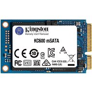 Kingston KC600 256GB mSATA - SSD meghajtó