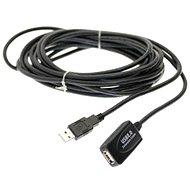 PremiumCord USB 2.0 repeater 5 m-es hosszabbító - Adatkábel