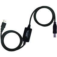 PremiumCord USB 2.0 interfész repeater 10 m - Adatkábel