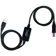 PremiumCord USB 2.0 Kábel repeaterrel (erősítővel) 20m hosszú - Adatkábel