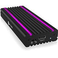ICY BOX IB-1824ML-C31 USB Type-C Enclosure for M.2 NVMe SSD – RGB - Külső merevlemez ház