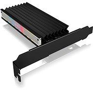 ICY BOX IB-PCI224M2-ARGB ARGB PCIe extension card for M.2 NVMe SSD - Bővítőkártya