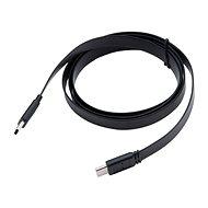 AKASA PROSLIM, C típusú USB 3.1 Gen 2 csatlakozó kábel / AK-CBLD08-12BK - Adatkábel