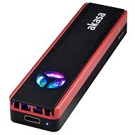 AKASA - Vegas M.2 SATA / NVMe SSD külső box s USB 3.2 Gen 2 / AK-ENU3M2-06 - Külső merevlemez ház