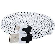 PremiumCord USB 2.0 A-B micro összekötő 1,8 m fekete - Adatkábel