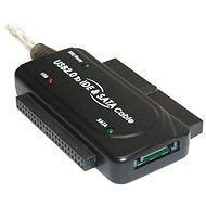 """PremiumCord - USB 2.0 -> IDE 40/44 Pin és SATA 2,5"""" és 3,5"""" HDD-hez, AC adapter - Átalakító"""