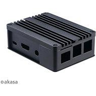 AKASA Pi 3 Alumínium ház Asus Tinker/S és Raspberry Pi 3B+/B/A-RA05-M1B számára - Számítógépház