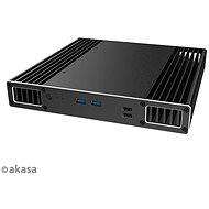 AKASA Plato PX alumínium tok 8. generációs Intel® NUC (Provo Canyon) / A-NUC51-M1B - Számítógépház