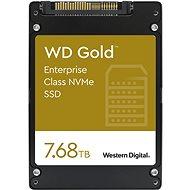 WD Gold SSD 7.68TB - SSD meghajtó