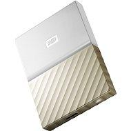 """WD 2.5"""" My Passport Ultra Metal 4TB fehér/arany - Külső merevlemez"""