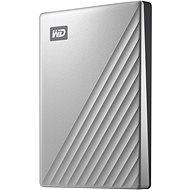 """WD 2.5"""" My Passport Ultra 2TB, ezüst - Külső merevlemez"""
