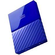 """WD 2.5"""" My Passport 1TB kék - Külső merevlemez"""