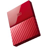 """WD 2.5"""" My Passport 1TB piros - Külső merevlemez"""