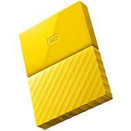 """WD 2.5"""" My Passport 1TB sárga - Külső merevlemez"""