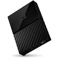 """WD 2.5"""" My Passport 4TB fekete - Külső merevlemez"""