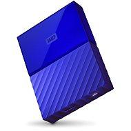 """WD 2.5"""" My Passport 4TB kék - Külső merevlemez"""