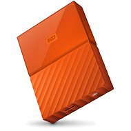 """WD 2.5"""" My Passport 4TB narancssárga - Külső merevlemez"""