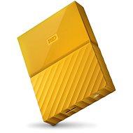 """WD 2.5"""" My Passport 4TB sárga - Külső merevlemez"""