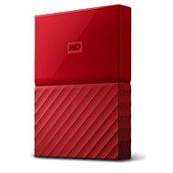 """WD 2,5"""" My Passport 2TB piros slim - Külső merevlemez"""