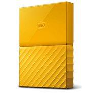"""WD 2,5"""" My Passport 2TB sárga slim - Külső merevlemez"""
