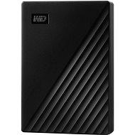 WD My Passport 4TB, fekete - Külső merevlemez