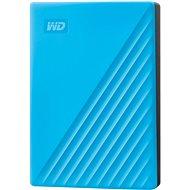 WD My Passport 4TB, kék - Külső merevlemez