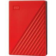 WD My Passport 4TB, piros - Külső meghajtó