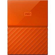 WD My Passport 1TB USB 3.0 - narancsszín - Külső meghajtó
