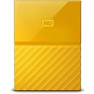WD My Passport 1TB USB 3.0 - sárga - Külső meghajtó