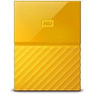 WD My Passport 2TB USB 3.0 - sárga - Külső meghajtó