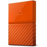 WD My Passport 4TB USB 3.0 - narancsszín - Külső meghajtó