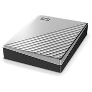 """WD 2,5"""" My Passport Ultra for Mac 4TB ezüst - Külső meghajtó"""