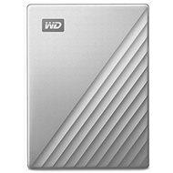 """WD 2.5"""" My Passport Ultra for Mac 5TB, ezüst - Külső meghajtó"""
